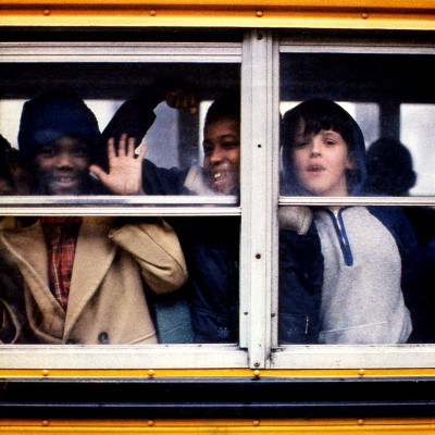 busing, New York Times, 1983