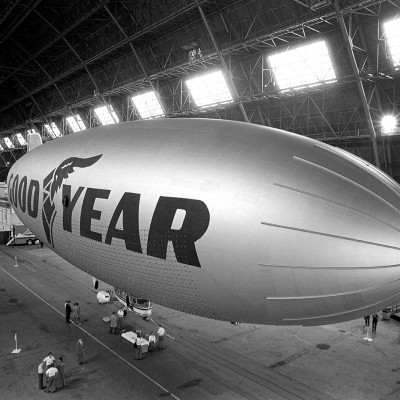 Goodyear blimp, 1986