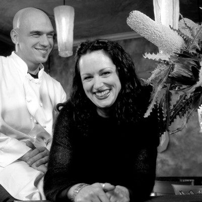 michael symon, liz symon, cleveland chefs, portraiture