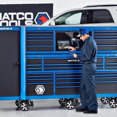 Barney Taxel photograph for Matco Tools